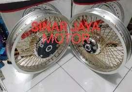 Jual berbagai jenis velg jari sepeda motor
