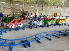 odong odong mini coaster full fiber isi 16 anak