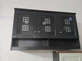 PROMO Kitchen Set Atas Pintu Kaca Model TERBARU