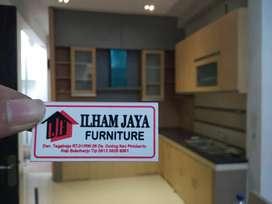 almari rak kitchen set DAP meja makan kursi lemari
