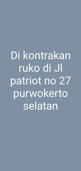 Disewakan Ruko Strategis di Purwokerto