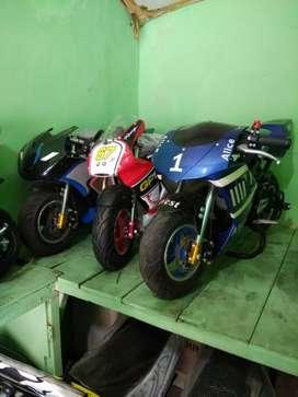 motor mini gp type R or std 50cc