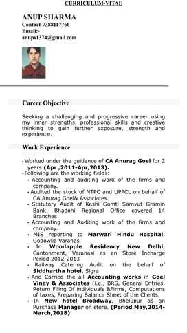 Job chahiye