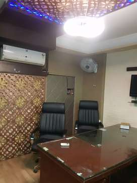 Vaishali 600 sq.ft Furnished office in commercial building Inox