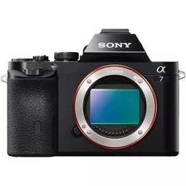Sony a7 body only cash credit