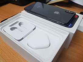 Iphone X 256 GB Fullset Mulus Like New