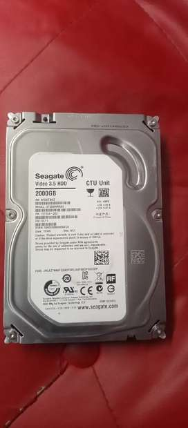 2TB seagate brand new hard for pc