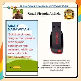 Flashdisk kajian firanda andirja sirah nabawiyah 32GB mp4video HD