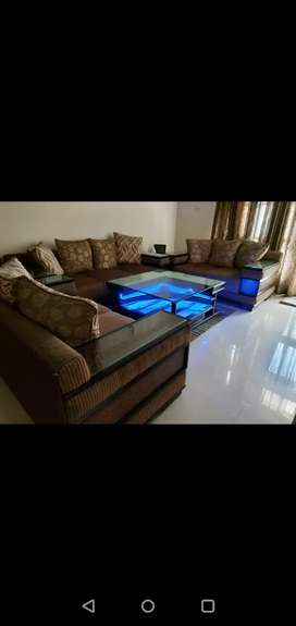 7 seater sofa with center table including side table