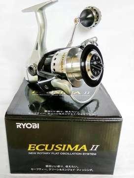 Reel ryobi ecosima II 8000 upgrade bonus joran