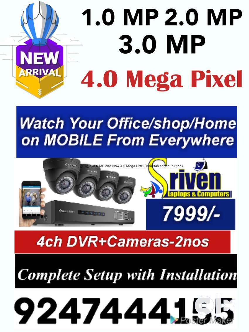 High Quality CC Cameras(3.0MP) -Complete Setup-Installation 0