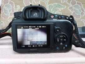 Kamera sony a58 lengkap siap pakai