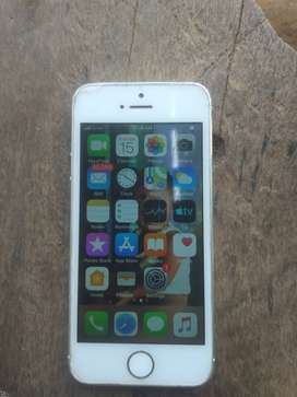 I phone 5s selver