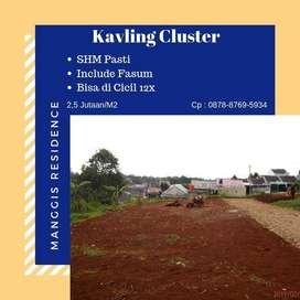Tanah Dijual Kapling Tersedia 11 Unit Mulai 2,5 Jt-an/M2