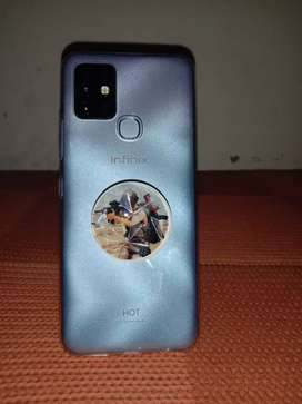 Brand new infinix hot 10 brnad 128 gb new all ok mobile neat and clean