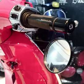 Spion Jalu / bar end mirror vespa sprint.gts.primavera.lx s. W175