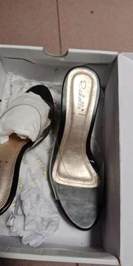Sendal heels Jelly