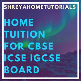 teacher required for ISO certified company CBSE ICSE IGCSE dadar