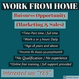 Digital marketing work online