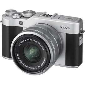 DiKredit Proses Cepat Fujifilm X-A5 Mirrorless with XC 15-45mm Silver