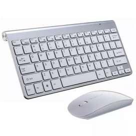 PROMO - Keyboard Mouse Wireless OEM Apple FREE BATRE