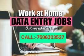 Simple typing job.& Data Entry job Contact 75O63O3527