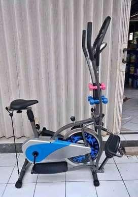 Toko Alat Fitness//Sepeda Setatis New Orbitrac Plat 5 Fungsi