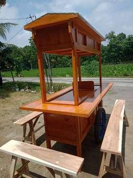 gerobak angkringan murah free ongkir cod 1193