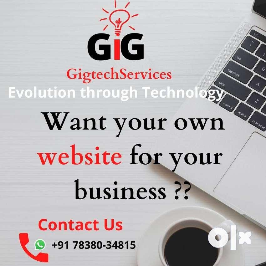 Wordpress Website, E-commerce, Software Development,Free hosting