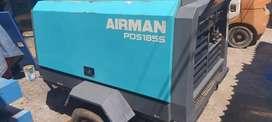 Jual Airman Compressor Kap 185 CFM