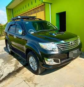 Fortuner VNT Turbo Diesel Matic 2013 Asli AD TT Cash Kredit Ok