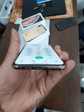 Apple iPhone XS max 256 GB Gold 100% condition full kit with warranty