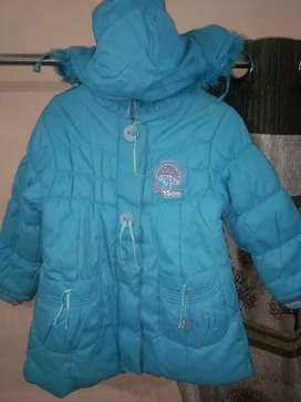 Jacket for kids (blue color)