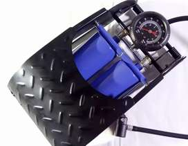 Cash on delivery Bike Car Motor cycle Air Pump Foot Pump with guage