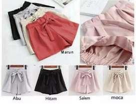 Celana Pendek Model Korea