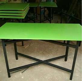 Meja lipat serbaguna meja lipat portabel meja makan