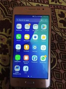 Samsung Grand Prime Plus With Box Less Used