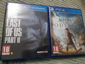 The Last of Us 2 and Assassin's Creed Odyssey