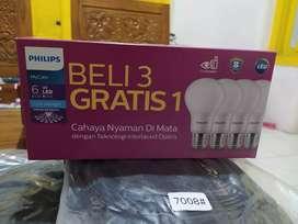 Lampu phillips my care 6 watt isi 4
