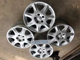 Velg Mercy R16 bisa Kijang Mazda Ertiga Innova Xtrail Grandmax Luxio