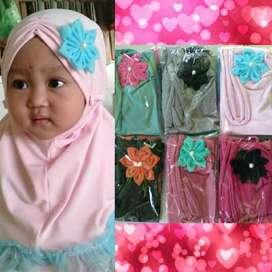 Hijab Anak Kombinasi Tile Remple