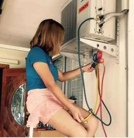 Servis AC panggilan semua merk.