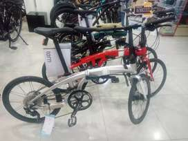 Kredit Sepeda Lipat Tern P10 Bunga Ringan