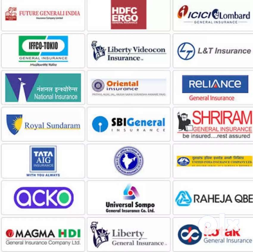 All types of motor vehicle insurance service 0