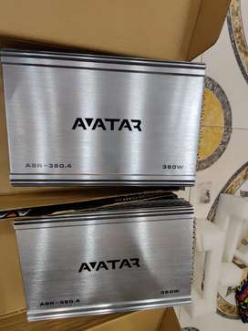 Two avatar 360.4 four channel amplifiers for sale.