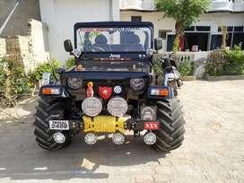 Open jeeps modified
