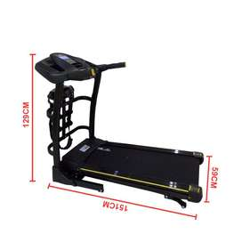 Treadmill Elektrik 2 HP TL636 | Alat Fitness dg Sistem AUTO INCLINE
