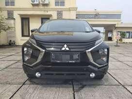 Mitsubishi Xpander Exceed 1.5 MT 2019 Hitam Low km Masih Waranti