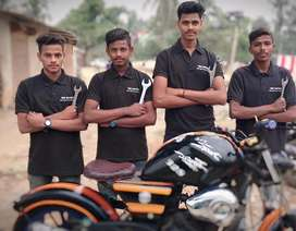 Bike mechanic require in urgent basic