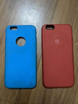 pack of 2 Silicon covers for iphone 6/6s